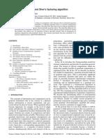 Quantum Computation and Shor's Factoring Algorithm