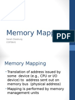 MMAP Memory Mapping