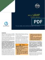 2013 NissanLEAF Owner Manual