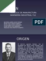 Kanban Procesos de Manufactura