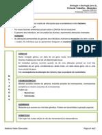 Ficha Informativa Mutacoes