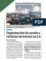 Organizacion ayuda a victimas de torturas en LA