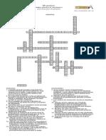 Crucigrama-solución