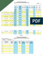 Tabel Laporan Sementara Penilaian Status Gizi