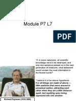 Module P7 L7