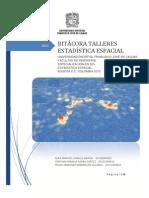 Bitácora de Talleres - Estadística Espacial