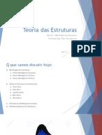 02 - Teoria Das Estruturas - Morfologia Das Estuturas