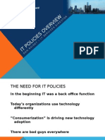 IT Policies Overview