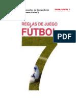 Reglamento de Competición Torneos Fútbol 7