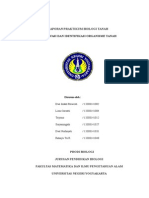 laporan biologi tanah