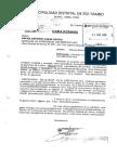 MD Río Tambo denuncia irregularidades en obras educativas