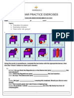 Grammar Practice Exercise 4