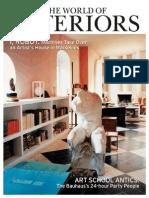 The World of Interiors 2012 08 Aug