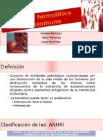 Anemia Hemolitica Diapositivas