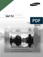 Samsung HL-S6167W Manual