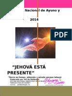 2014 Semana Nacional de Ayuno y Oración