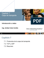 R&S CCNA1 ITN Chapter7 Capa de Transporte