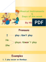 Musical Instruments Scribd