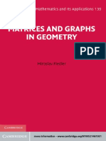 Graphs and Matrices in Geometry Fiedler.pdf