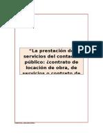 Tesis Los Servicios Del Contador Pblico - Formas de Contratacin