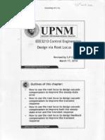 Design via Root Locus -Control engineering