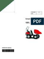 1001 1501 Dumper Manual NEUSON