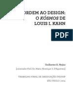 MEJIAS, Guilherme A. Da Ordem Ao Design