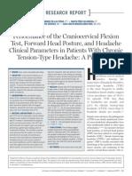Performance of the Craniocervical Flexion