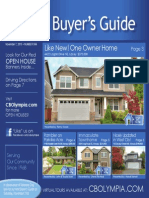 Coldwell Banker Olympia Real Estate Buyers Guide November 7th 2015
