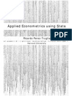 Applied Econometric Using Stata