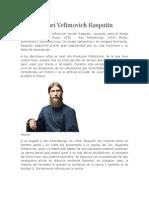 Grigori Yefímovich Rasputín