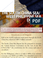 The South China Sea / West Philippine Sea Dispute