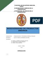 Biodiversidad de Productos Andinos