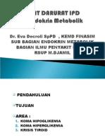 Blok 4.2 2015 - Kegawatdaruratan IPD - Endokrin Metabolik
