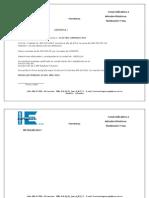 Certificado Electro Laminas LTDA 2014
