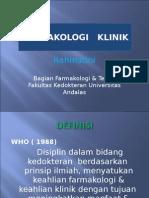 Farmakologi klinik