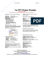 msds for fft power powder