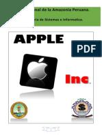 Trabajo de Apple Corporation inc. UNAP-FISI