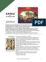 Orfeo de Monteverdi