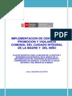 Plan de Trabajo Cpv -MINSA.