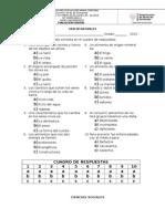 Evaluaciónes Generales de de Ciencias Naturales, Sociales, Castellano y Matematicas. Docx