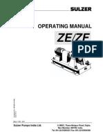 Manual Sulzer ZE/ZF