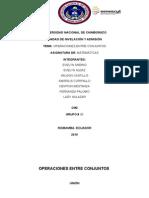 Operaciones Entre Conjuntos