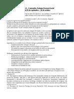 Temas 13, 14 y 16 - Pastoral Social