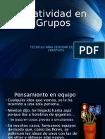 Creatividad en Grupos