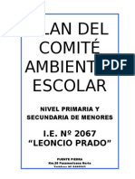 Plan Del Comite Ambiental 2015