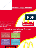 organizational change process
