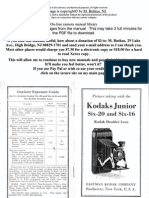 Kodak Junior Six-20 Six-16