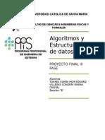 Proyecto Final Algoritmos