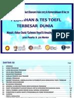Proposal TOEFL Terbesar Dunia